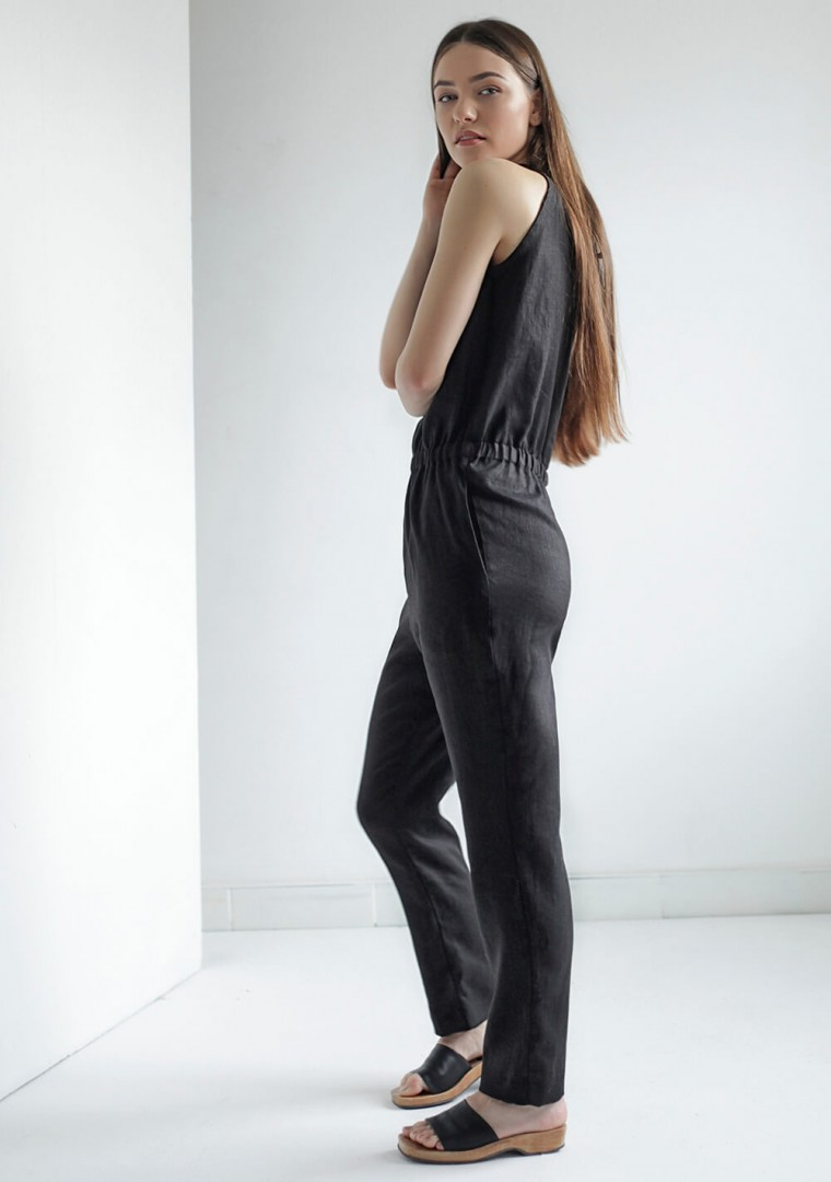 Linen jumpsuit Mila 4