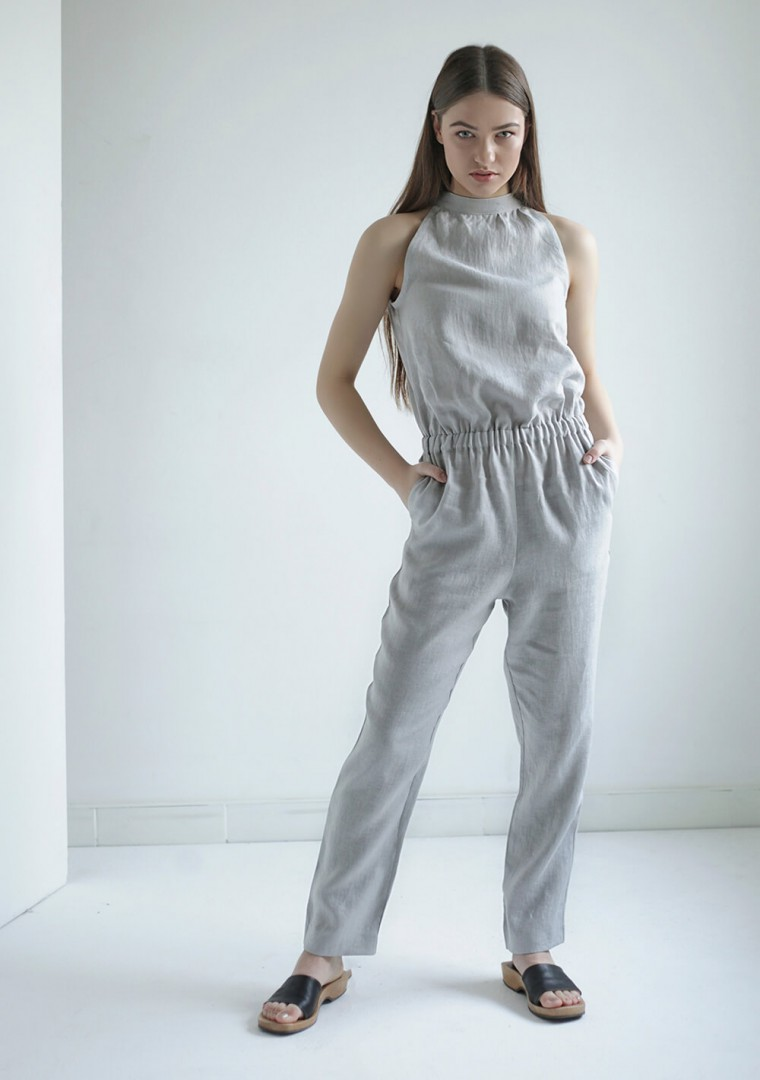 Linen jumpsuit Mila 7