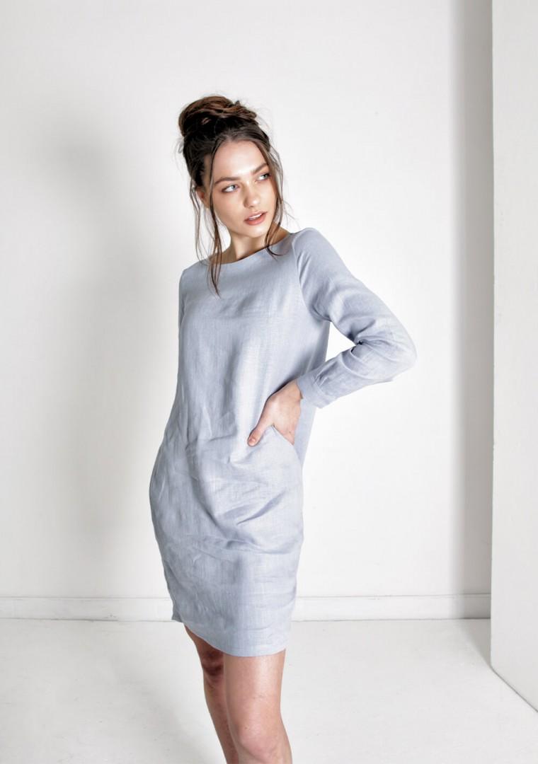 Linen shirt dress Daisy 6