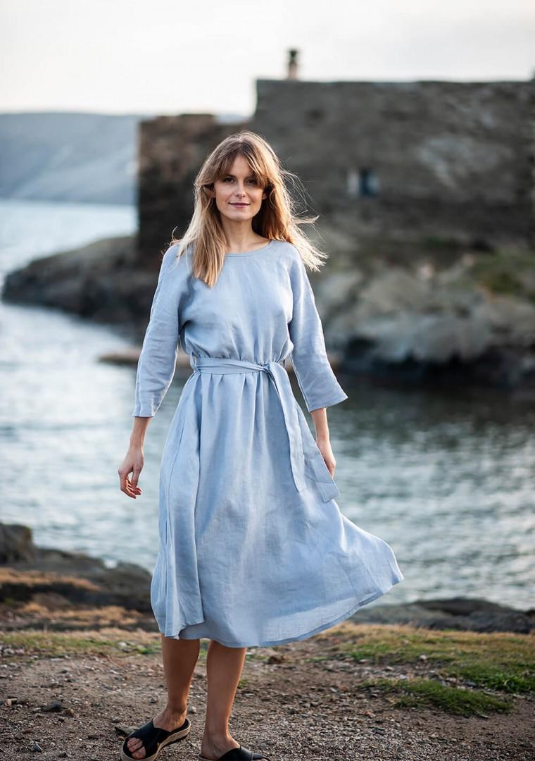 Linen dress Scarlett 11