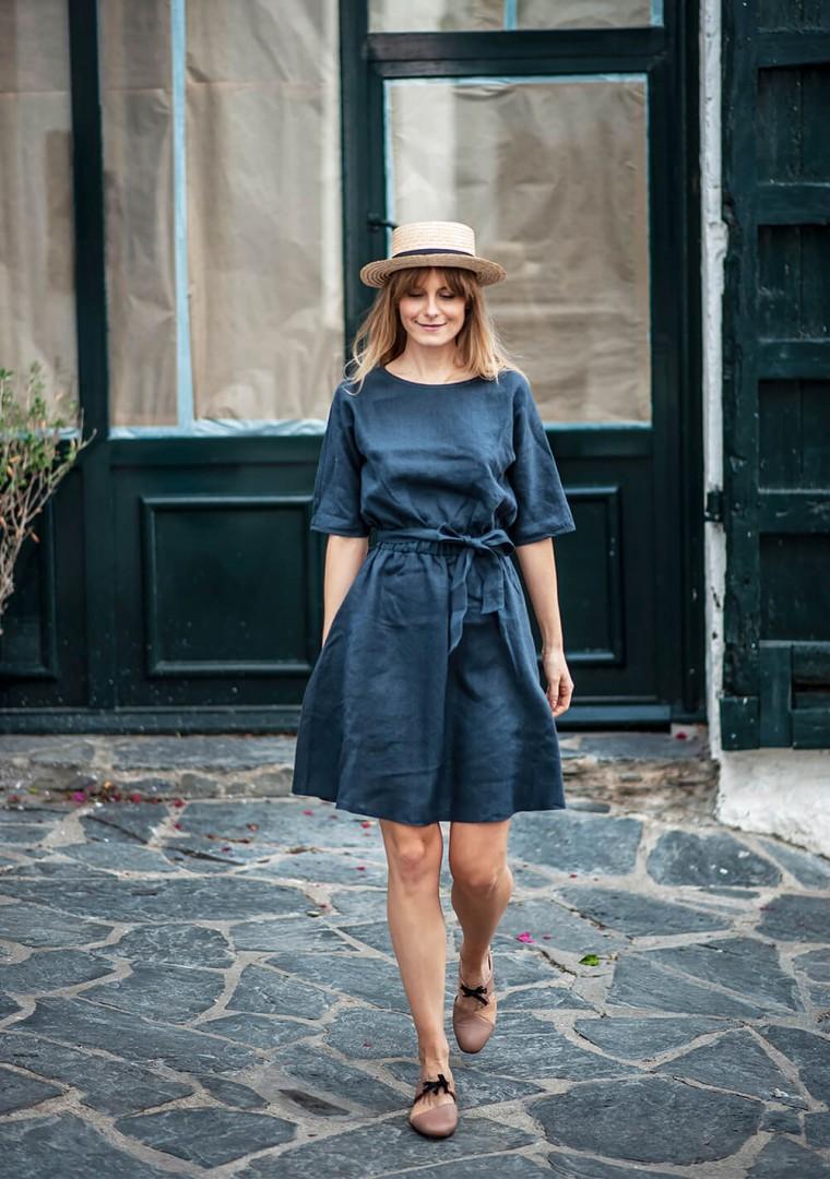 Linen dress Maeve 10