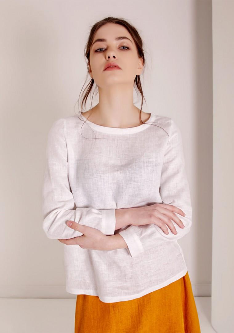 Long sleeve linen shirt Cynthia 5