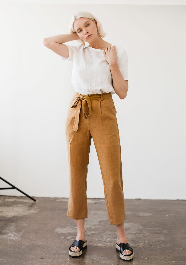 Linen pants Dakota 8