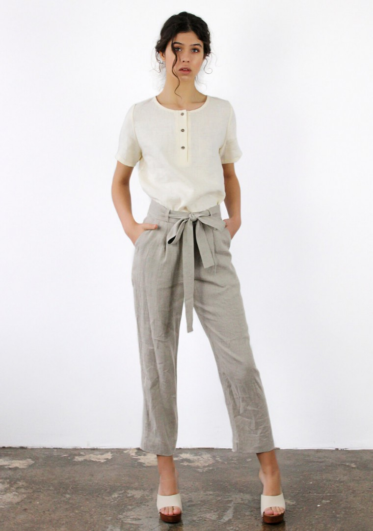 Linen pants Dakota 7