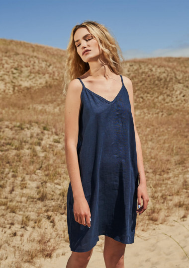 Linen cami dress Gia