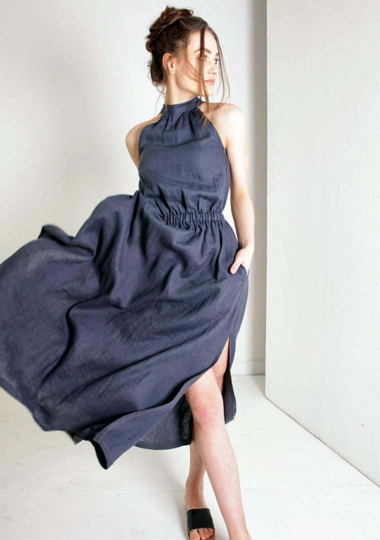 Linen dress Alicia 1