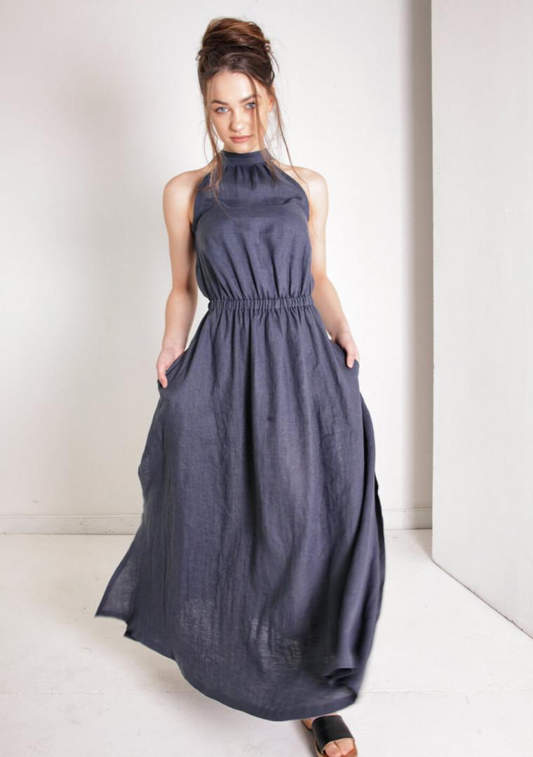 Linen dress Alicia 6