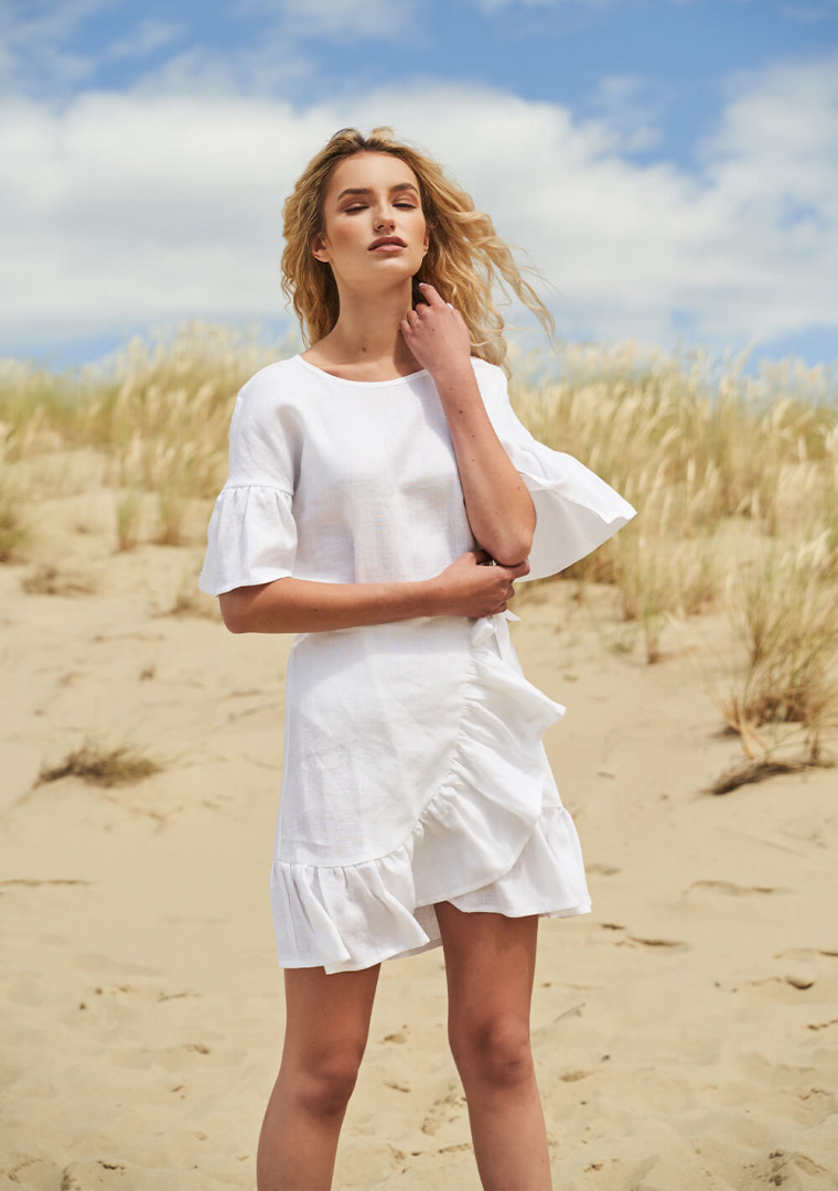 Linen dress Cheryl 4