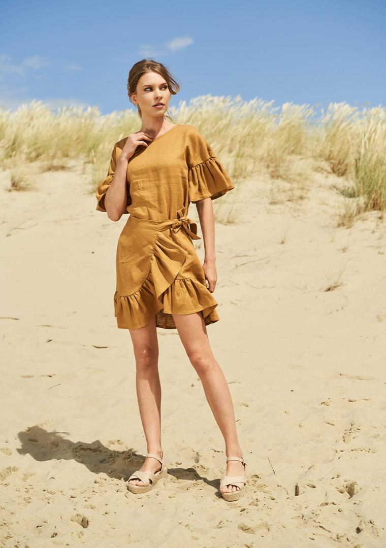 Linen dress Cheryl 2