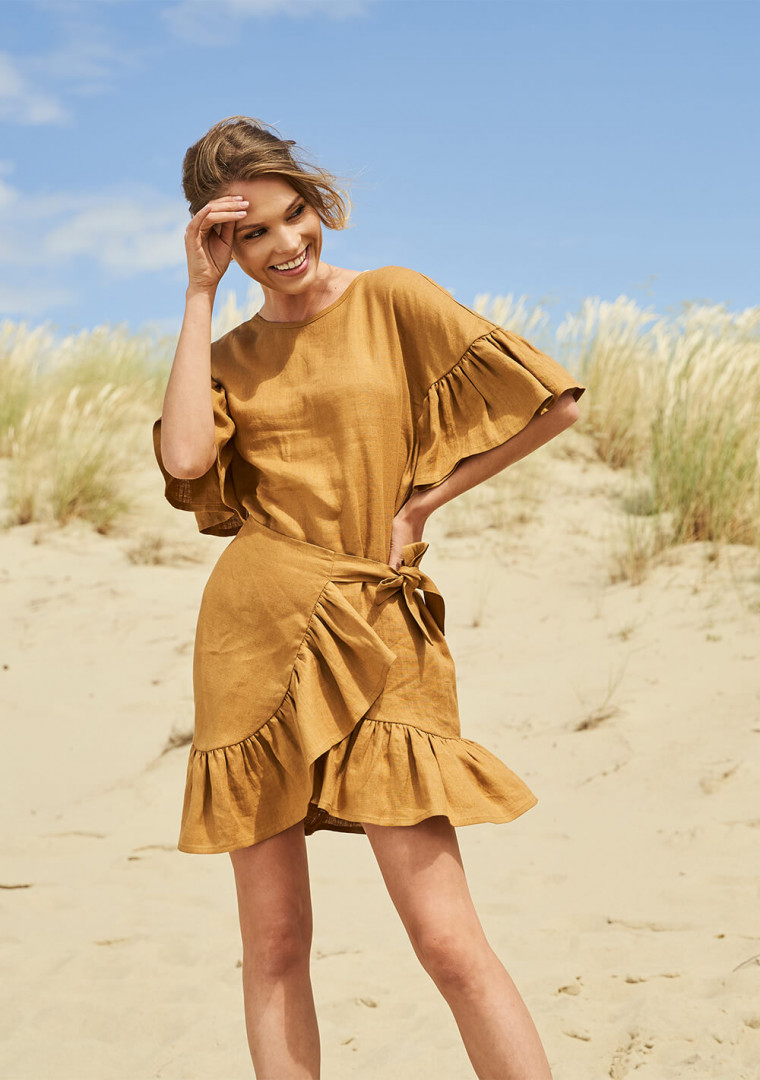 Linen dress Cheryl 1