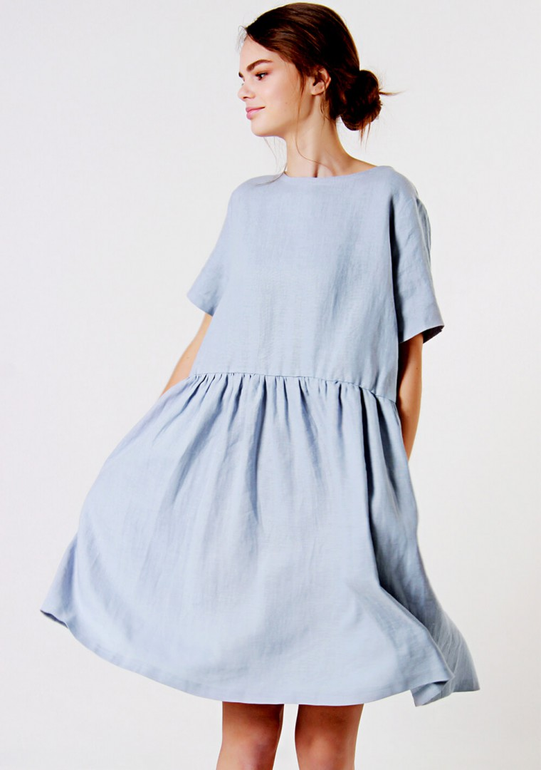 Loose linen dress Darling 1