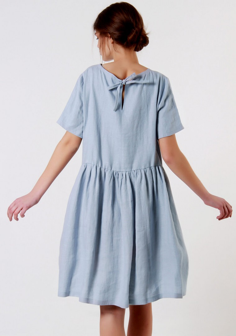 Loose linen dress Darling 2