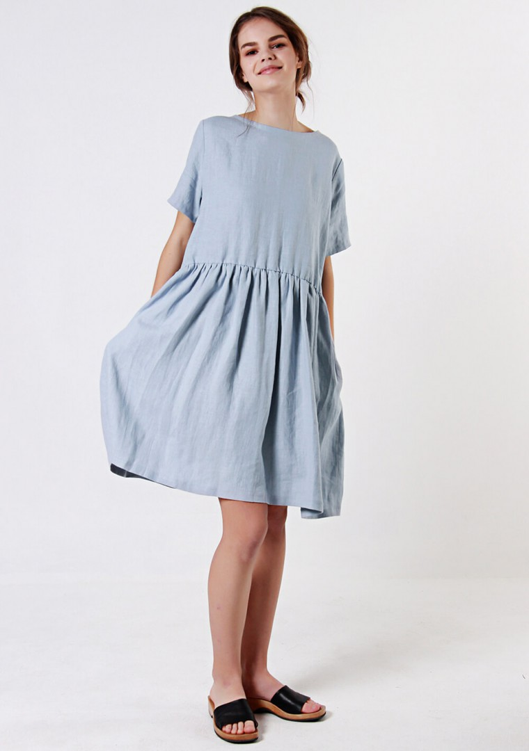 Loose linen dress Darling 3