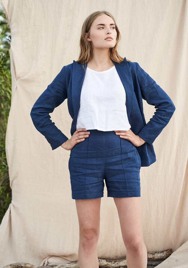 Linen shorts Tori 8