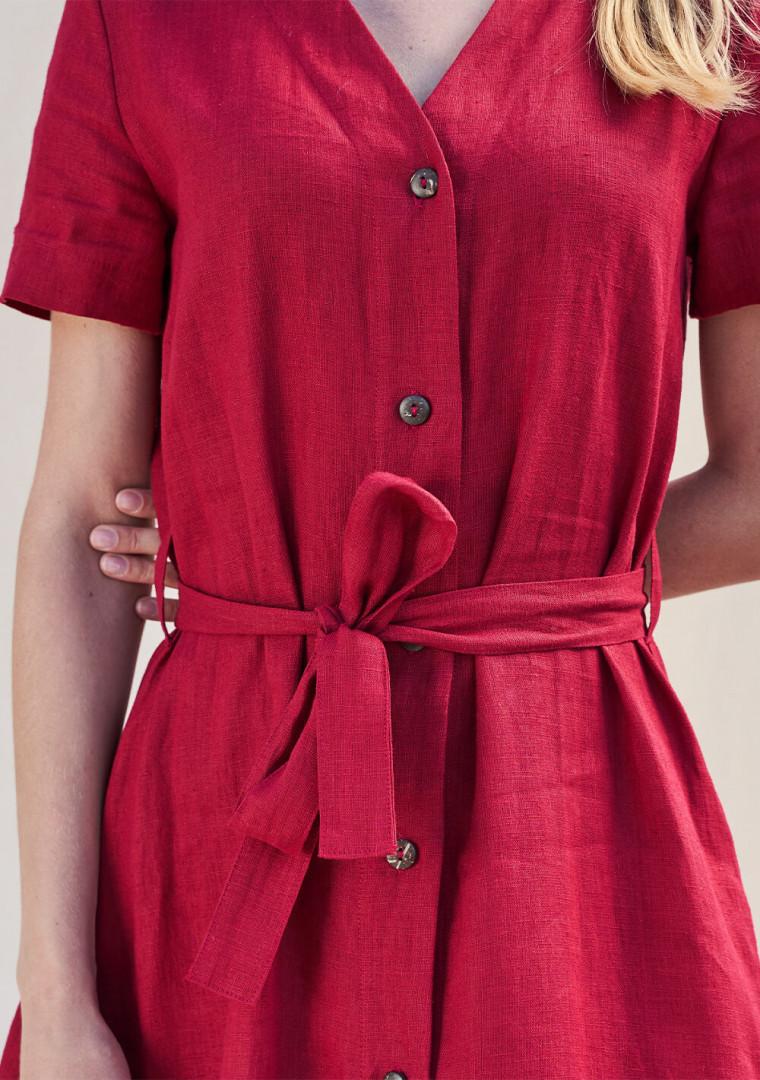 Button down linen dress Sanna 5