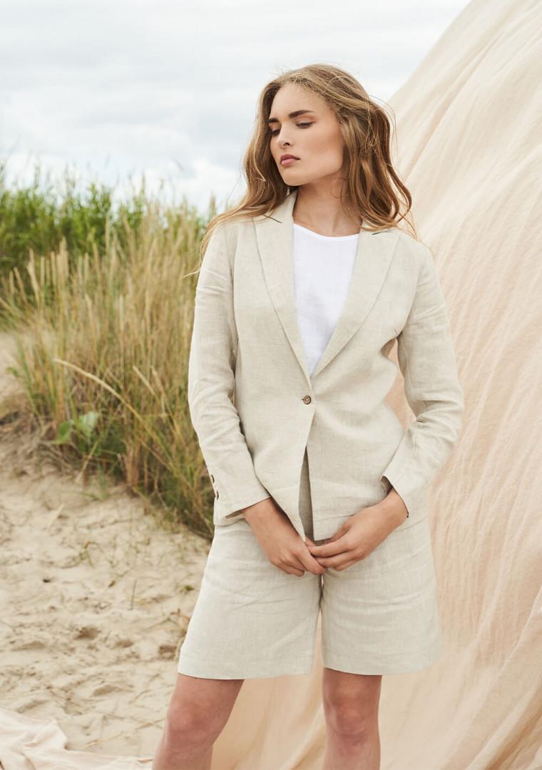 Linen jacket Colette 1
