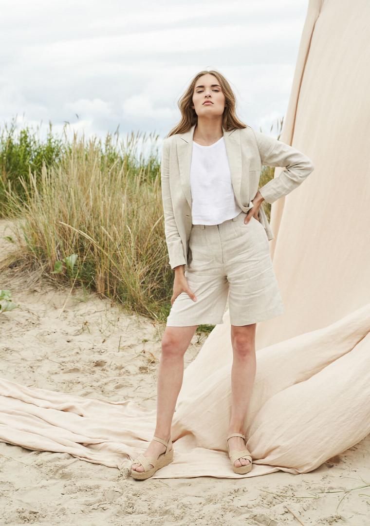Linen jacket Colette 2