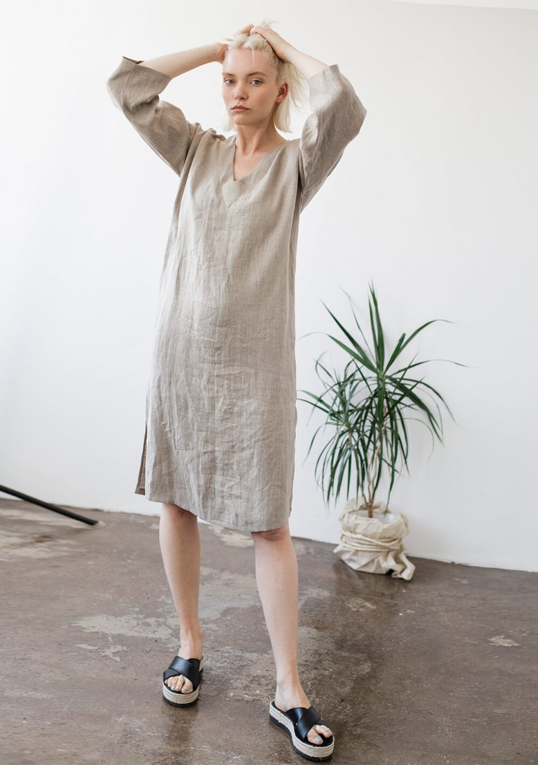 Linen tunic dress Georgia 4