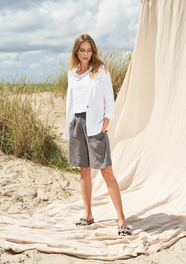 Linen bermuda shorts Gemma