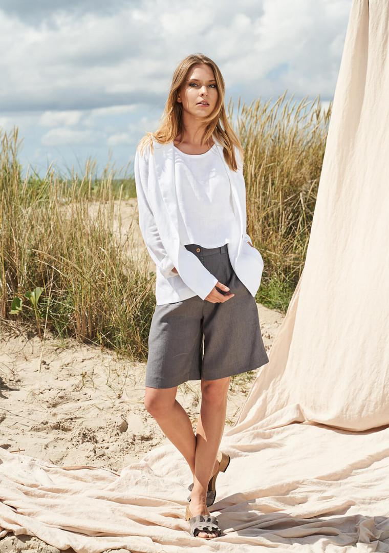 Linen bermuda shorts Gemma 3