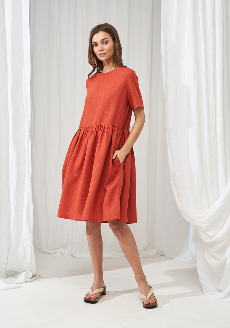 Linen dress Darling 1