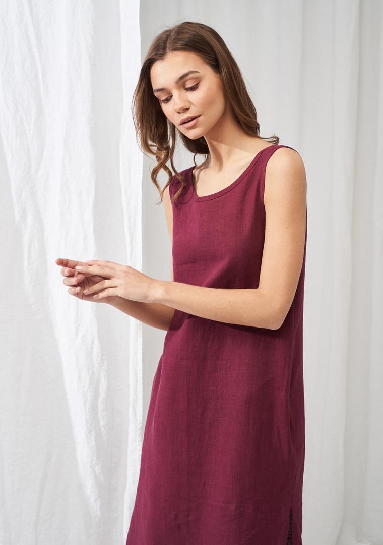 Linen maxi dress Astrid 2