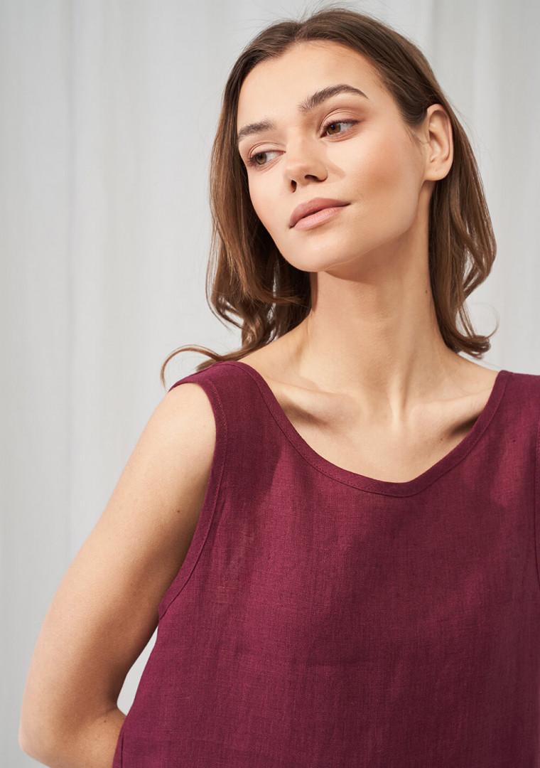 Linen maxi dress Astrid 4