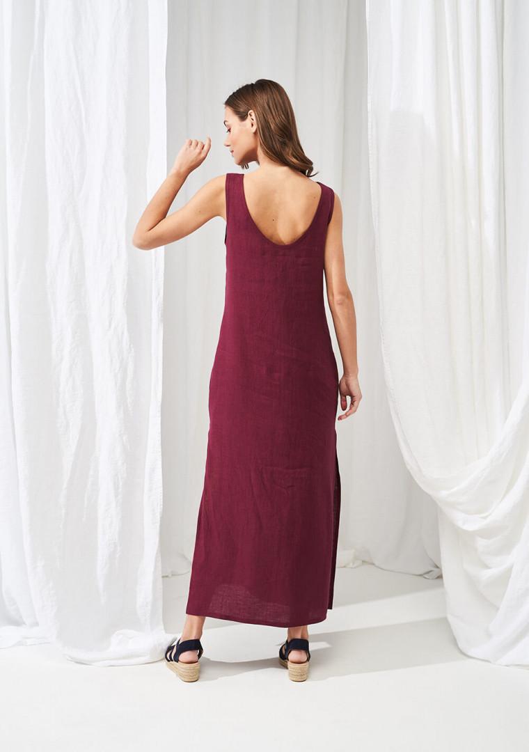 Linen maxi dress Astrid 1