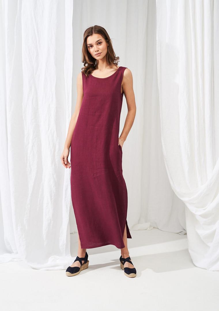 Linen maxi dress Astrid 5