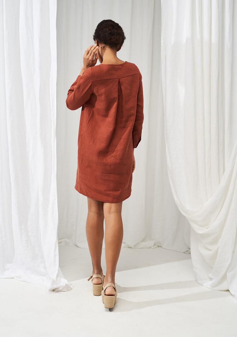 Linen shirt dress Daisy 1