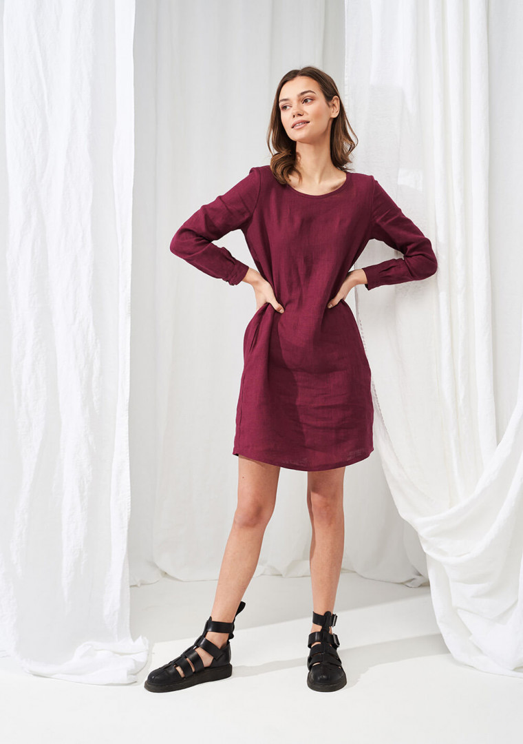 Linen shirt dress Daisy 4