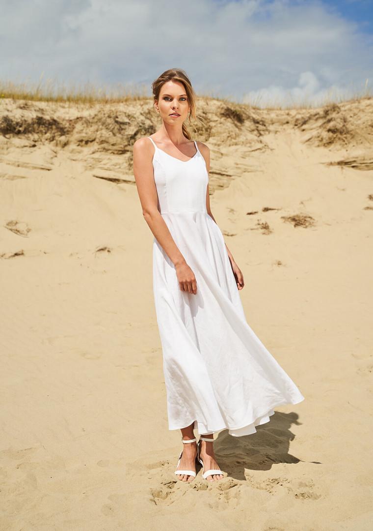 Maxi linen circle dress Odessa 7