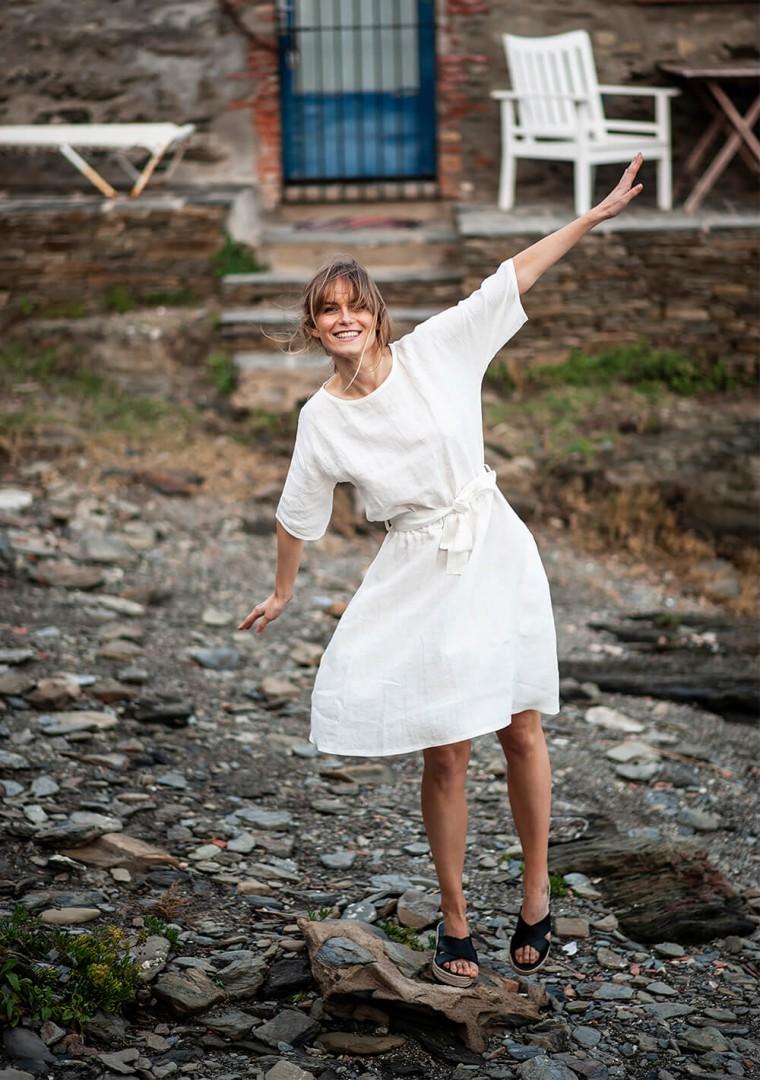 Linen dress Maeve 1