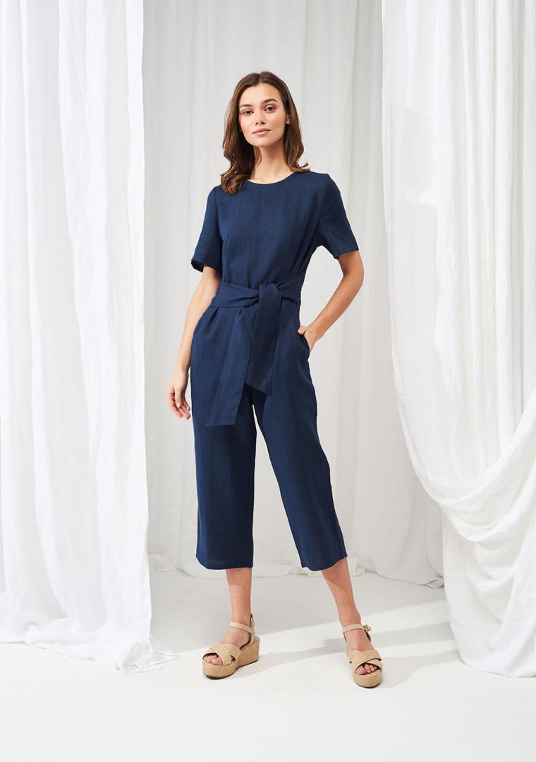 Linen jumpsuit Avery 3