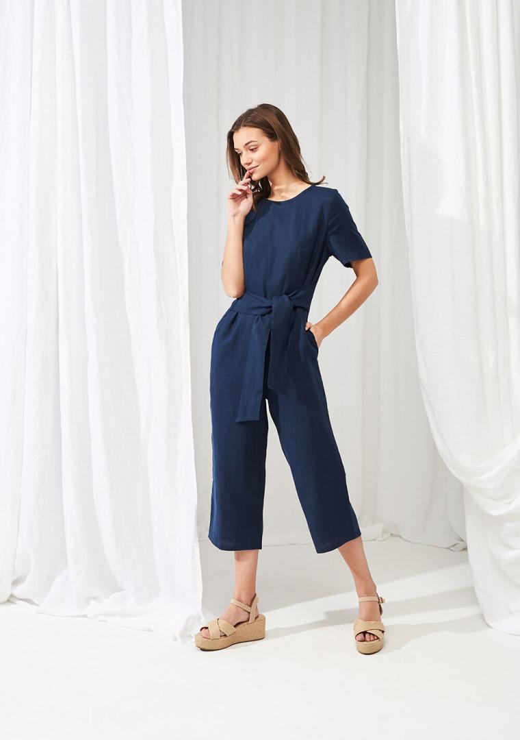 Linen jumpsuit Avery 1