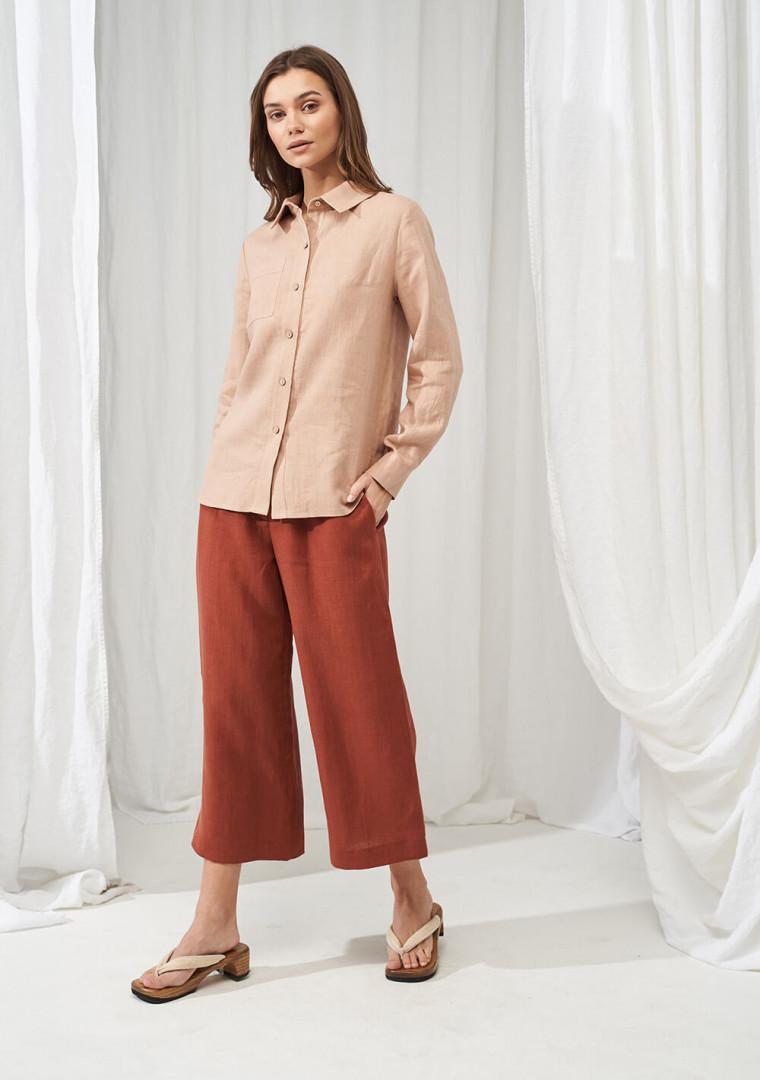 Wide leg linen pants Gemma 4