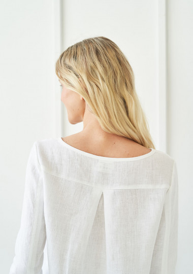 Long sleeve linen shirt Cynthia
