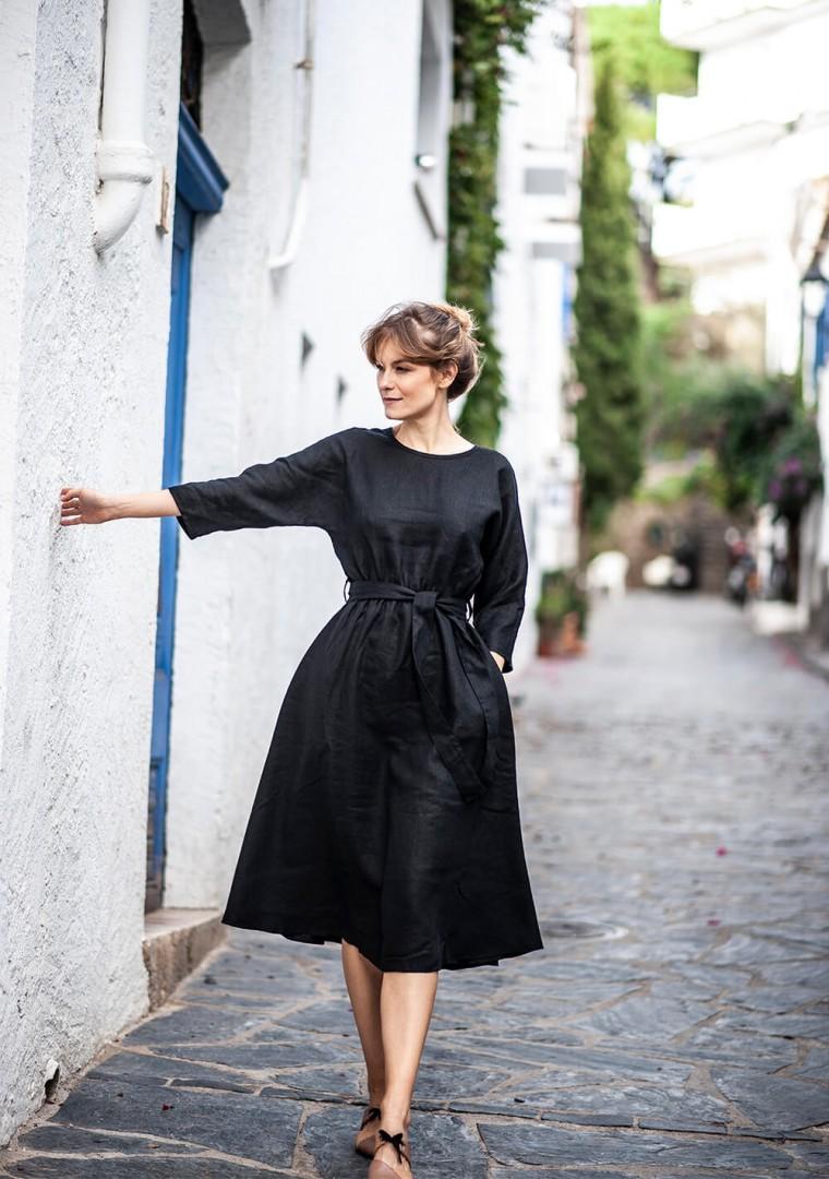 Linen dress Scarlett 5