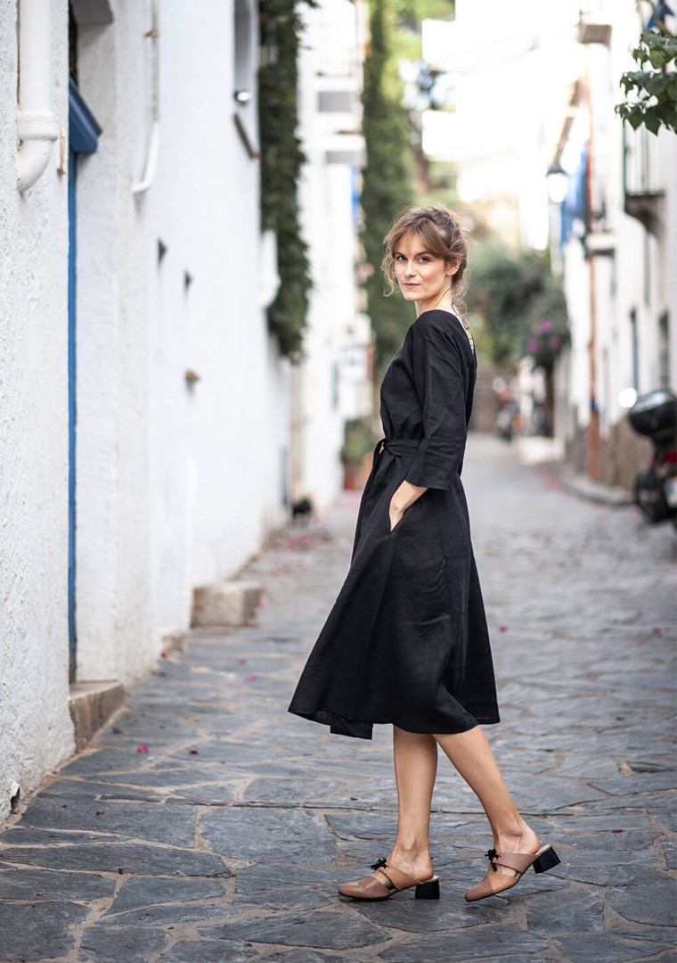 Linen dress Scarlett 1