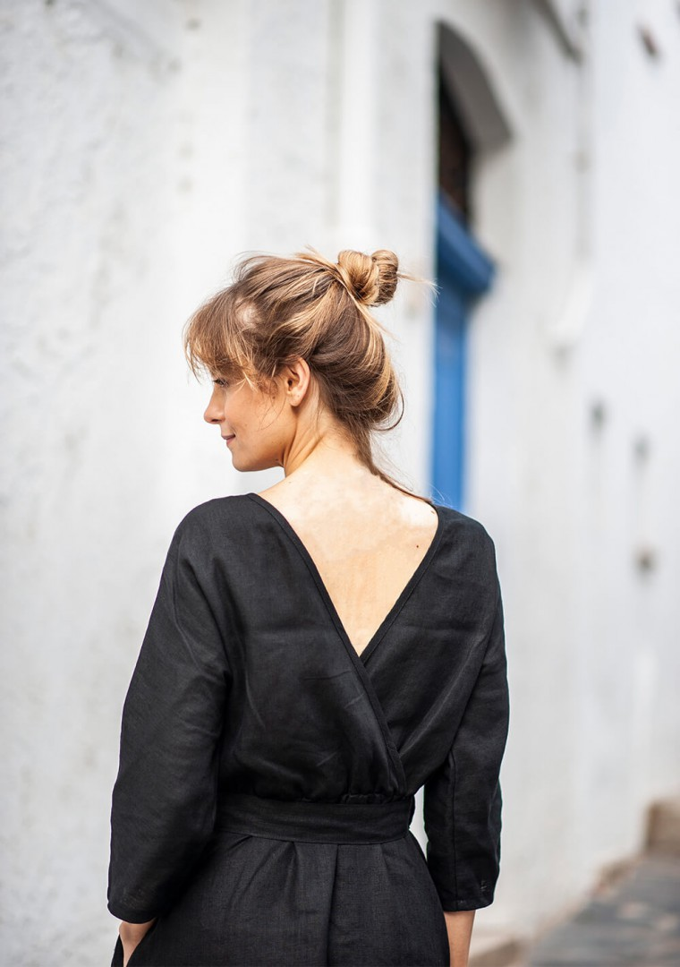 Linen dress Scarlett 7