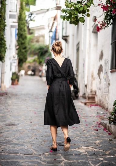 Linen dress Scarlett