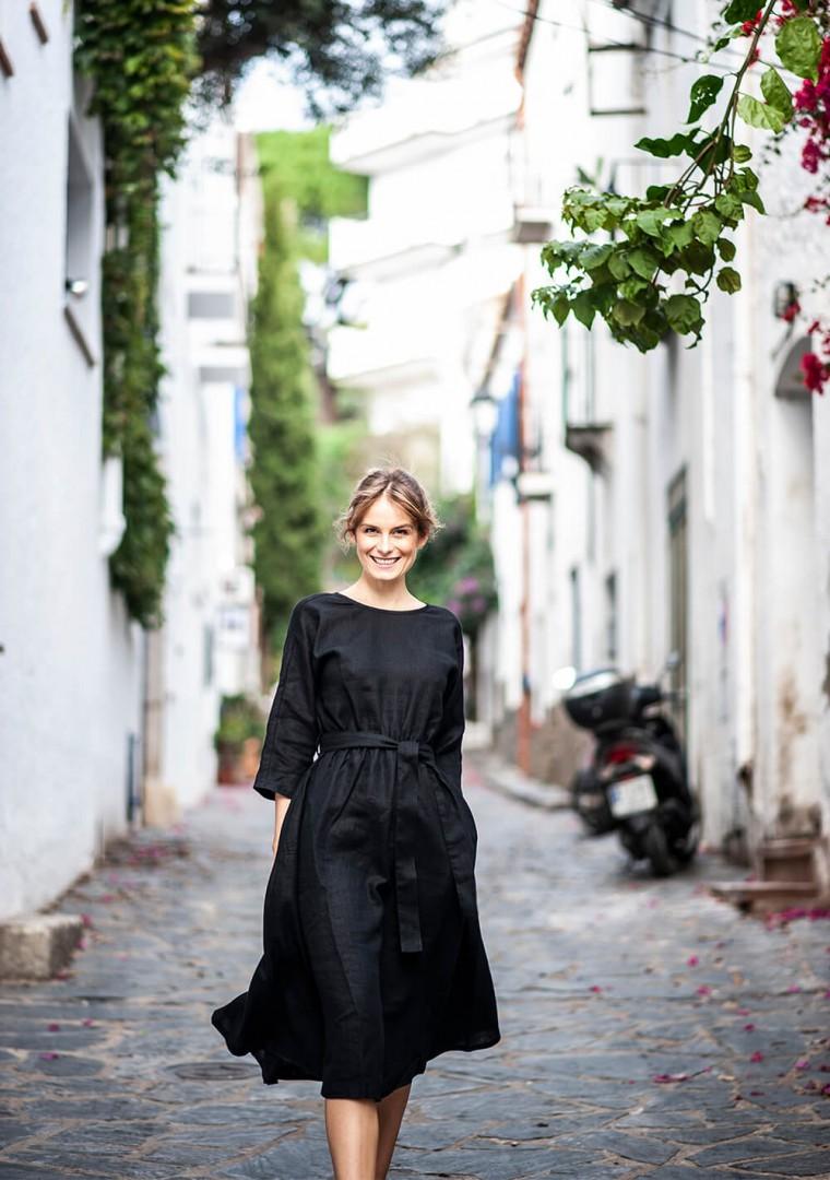 Linen dress Scarlett 3