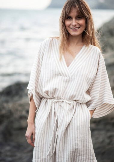 Linen kaftan dress Jolene