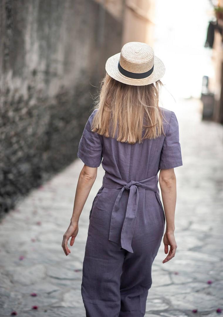 Linen jumpsuit Avery 6