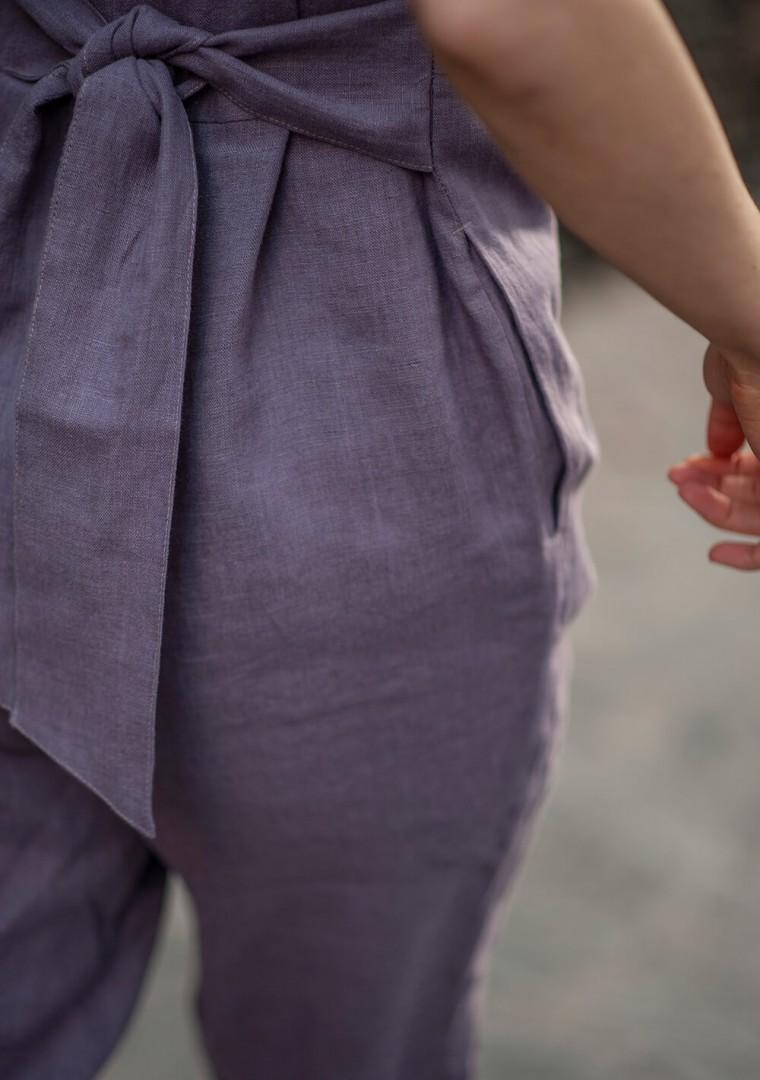 Linen jumpsuit Avery 8