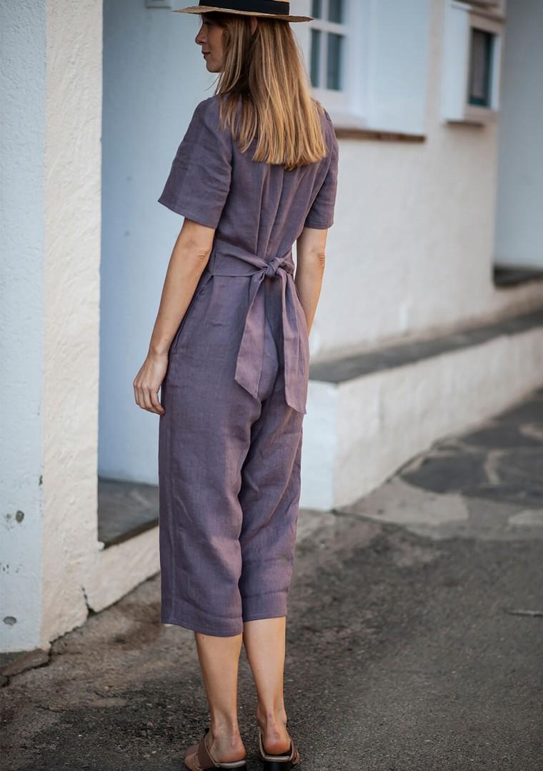 Linen jumpsuit Avery 9