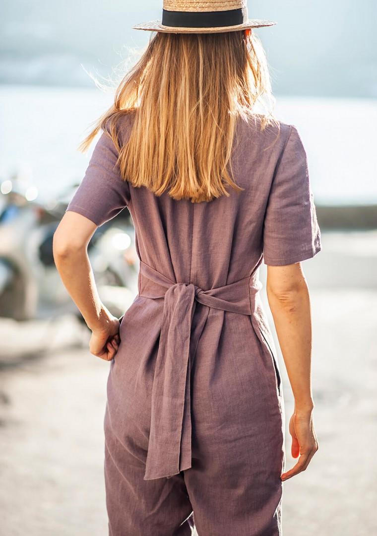 Linen jumpsuit Avery 4