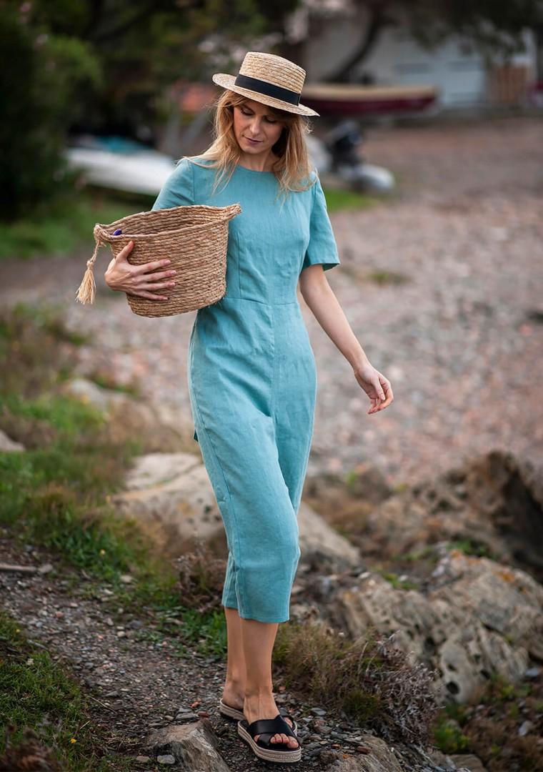Linen jumpsuit Avery 7