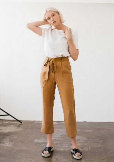 Linen pants Dakota