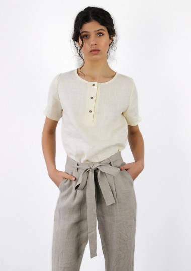 Linen pants Dakota in natural